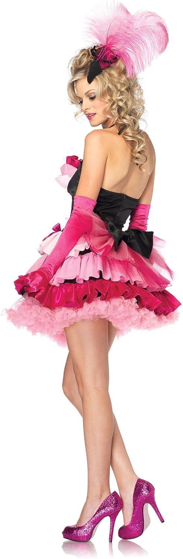 Desconocido Disfraz de cabaretera para mujer: Amazon.es: Juguetes ...