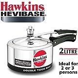 Hawkins Hevibase Aluminum Induction Model Pressure Cooker, 2 litres (IH20)