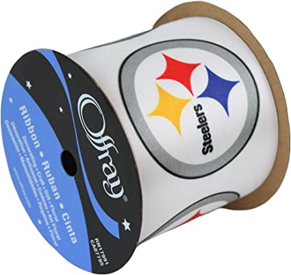 Amazon.com: Pittsburgh Steelers Ribbon-Pittsburgh Steelers ...