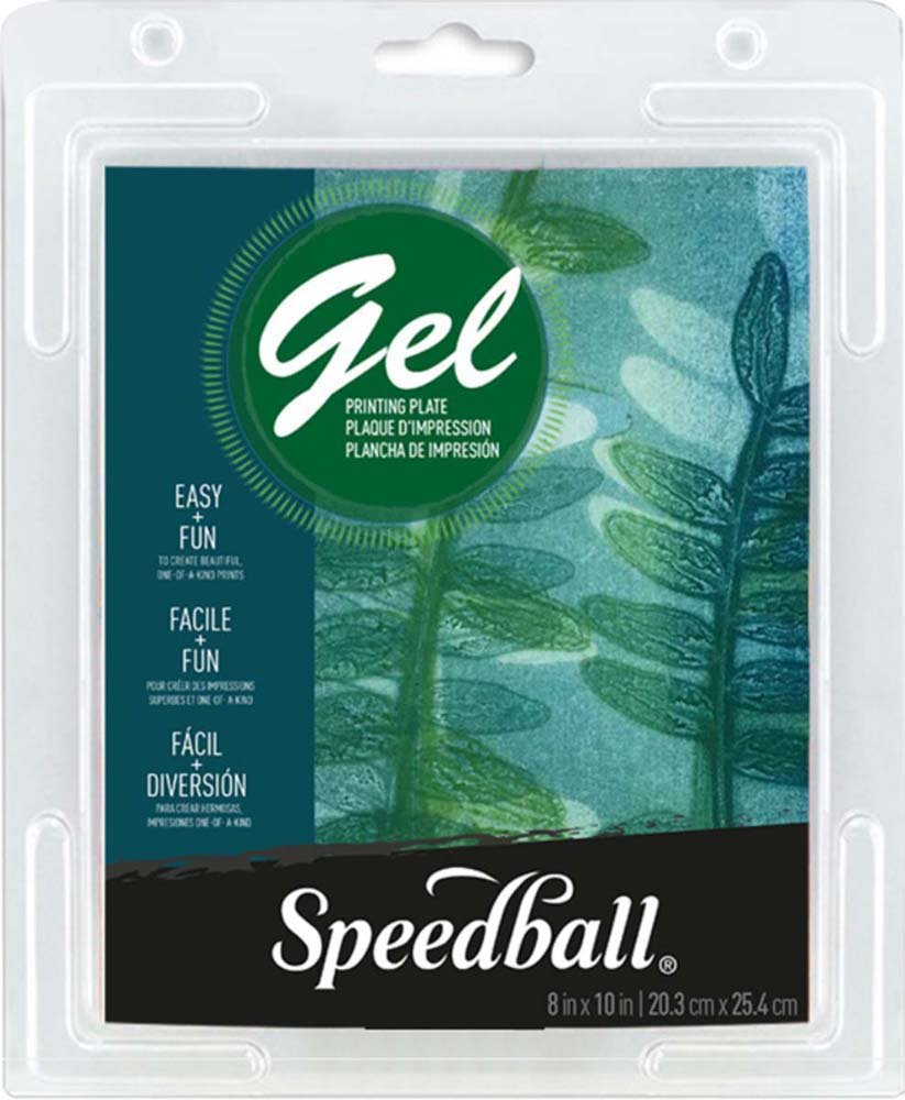Speedball Gel Printing Plate 8'X10'- Speedball Art Products 008002