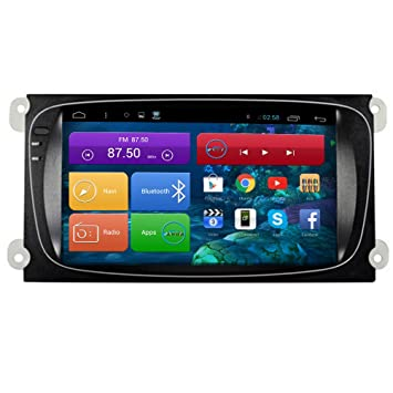 topnavi [mm última Android 6.0 EN Dash coche GPS navegación] para Ford Focus2 Mondeo