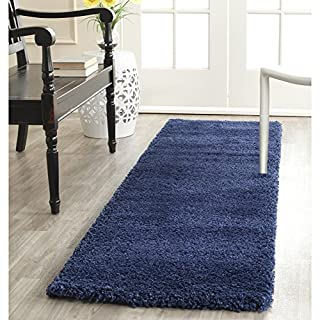 Safavieh Milan Shag Collection SG180-7070 Navy Runner (2' x 10') (B00OAPIXUK) | Amazon price tracker / tracking, Amazon price history charts, Amazon price watches, Amazon price drop alerts