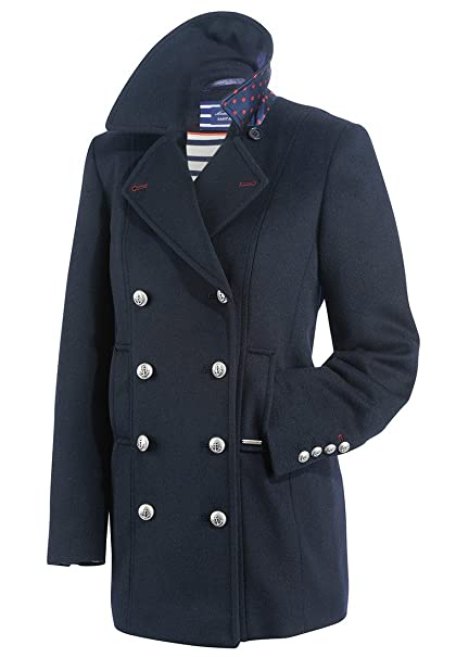 reputable site 761d8 d2fce Saint James - Caban giacca giacca da marinaio navy cappotto ...