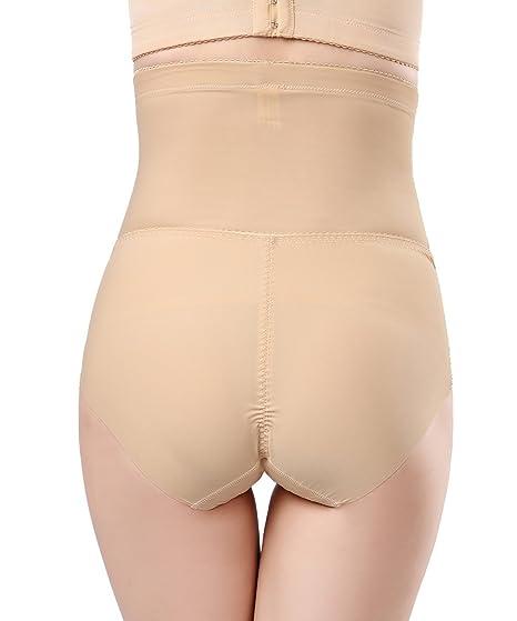30ac1ee6ebc93 FUT Women Body Shaper High Waist Tummy Control Panty Slim Butt lifter Waist  Trainer at Amazon Women s Clothing store