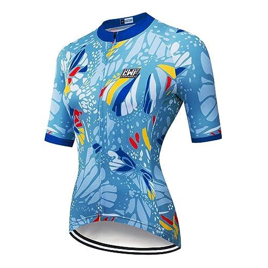 Damas traje de ciclismo Ciclismo Camisa De Ropa De La Bici Ropa ...