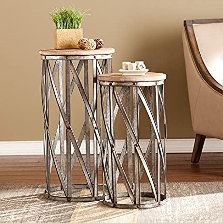 Southern Enterprises Mencino Accent Table Set Of 2
