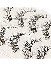 ICYCHEER Fashion Makeup 5 Pairs False Eyelashes Set Fake Eye Lashes Long Thick Extension Handmade