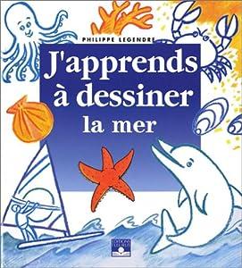 """Afficher """"J'apprends à dessiner la mer"""""""