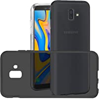 Capa para Samsung Galaxy J6 Plus 2018, Cell Case, Capa Protetora Flexível, Fumê