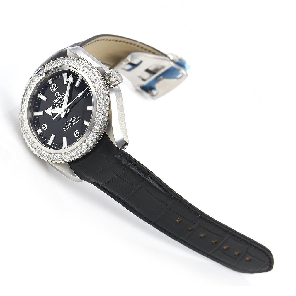 [オメガ]OMEGA 腕時計 SeamasterPlanetOcean ブラック文字盤 ダイヤモンド 232.18.42.21.01.001 レディース 【並行輸入品】 B078YKW24S