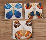 Wall of Dragon 6 pcs magic flying butterfly change from empty hands freedom butterfly close up magic tricks magia kids toy funny gadgets