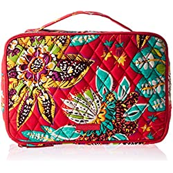 Vera Bradley Large Blush and Brush Makeup Case, Rumba