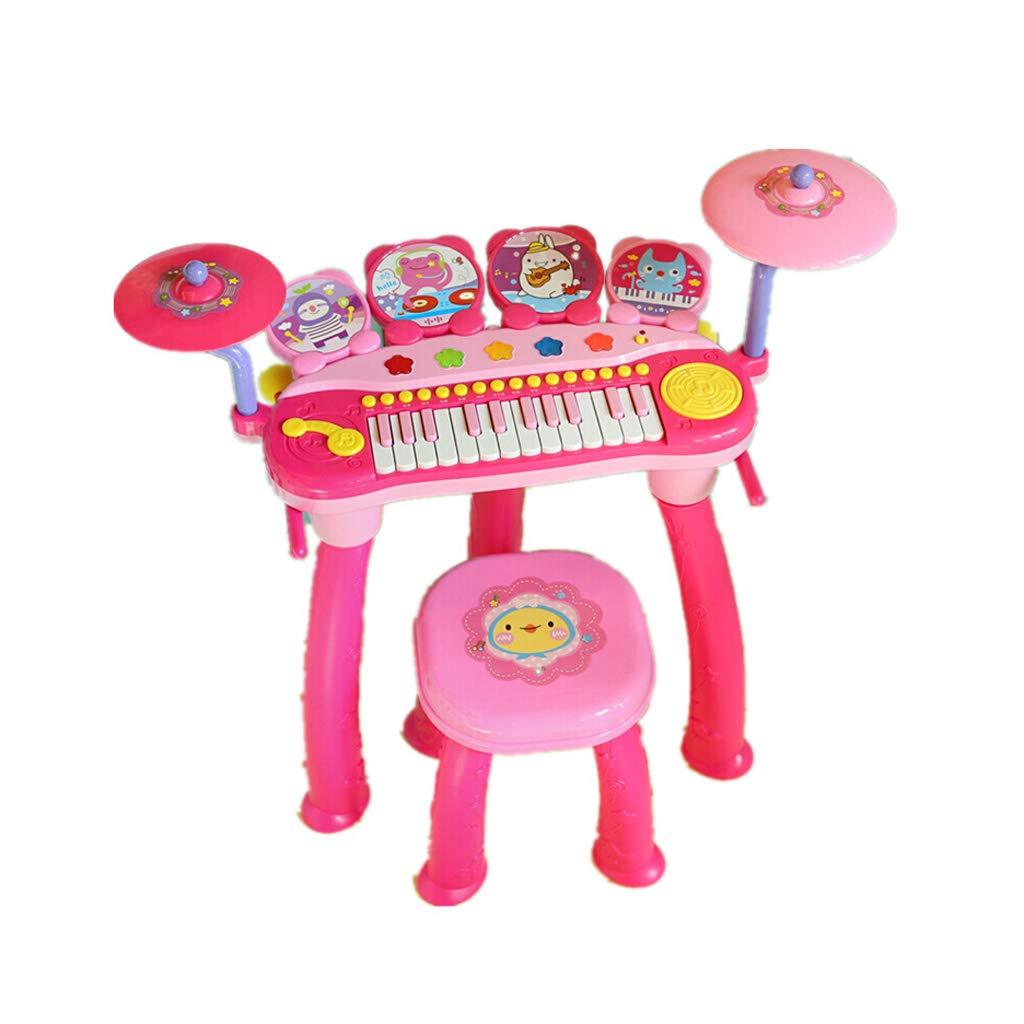 大洲市 LIUFS-ドラム 子供のキーボードピアノドラム子供のおもちゃ初心者ピアノの女の子のおもちゃ3-10歳 (色 : LIUFS-ドラム (色 B07MHBHLGM Pink) Pink B07MHBHLGM, 柿木村:f48d0f73 --- a0267596.xsph.ru
