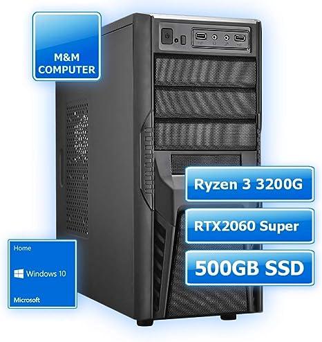 M&M Computer - Ordenador para principiantes Disco duro SSD de 500 ...
