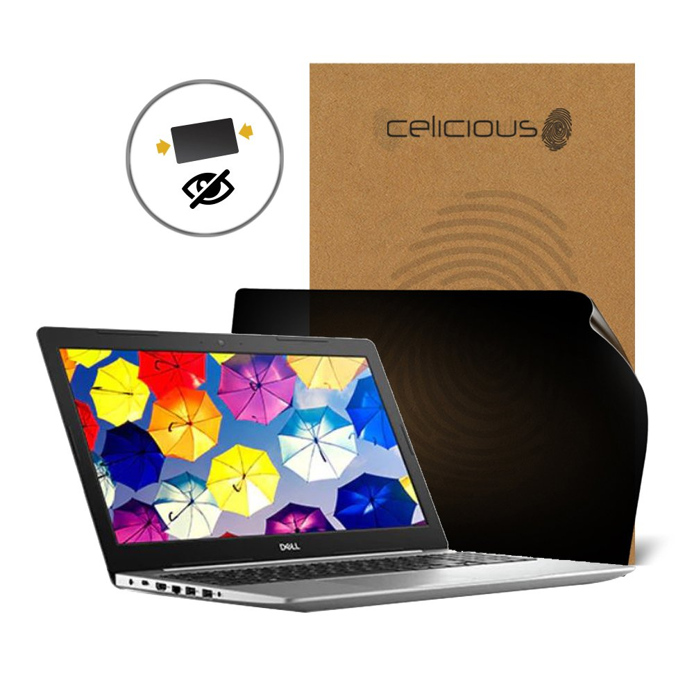 Celicious Privacy 2-Way Anti-Spy Filter Screen Protector Film Compatible with Dell Inspiron 15 5570 (Touch)