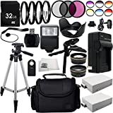 Ultimate 58mm Lens 28PC Accessory Kit for Canon EOS Rebel T2i T3i T4i T5i Cameras Includes Wide Angle & Telephoto Lenses + 3PC Filter Kit + 4PC Macro Filter Kit + 6PC Graduated Color Filter Kit + MORE