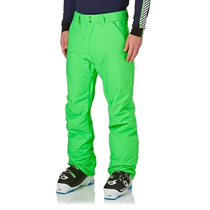 Pantalón de esquí verde neon quiksilver hombre