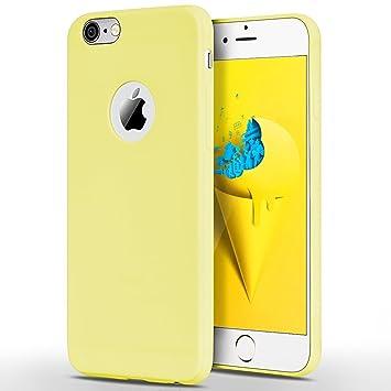 SpiritSun Funda iPhone 6 Plus / 6S Plus, Soft Carcasa Funda Diseño Mate Opaco Ultrafina TPU Bumper Suave Silicona Piel Carcasa Ultra Delgado y Ligero ...