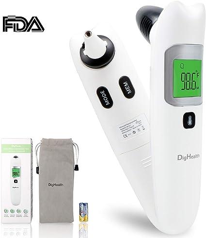 Hot Portable 8 en 1 LCD Digital Infrared Ear Ear Front Babies Thermomètre