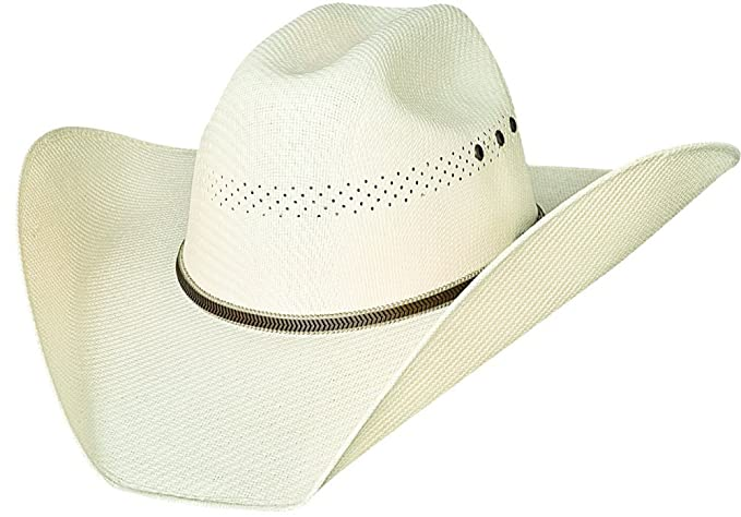 Justin Moore Montecarlo Bullhide Hats Bait a Hook Western 50X California Straw  Cowboy Hat (6 fbf07808a5bc