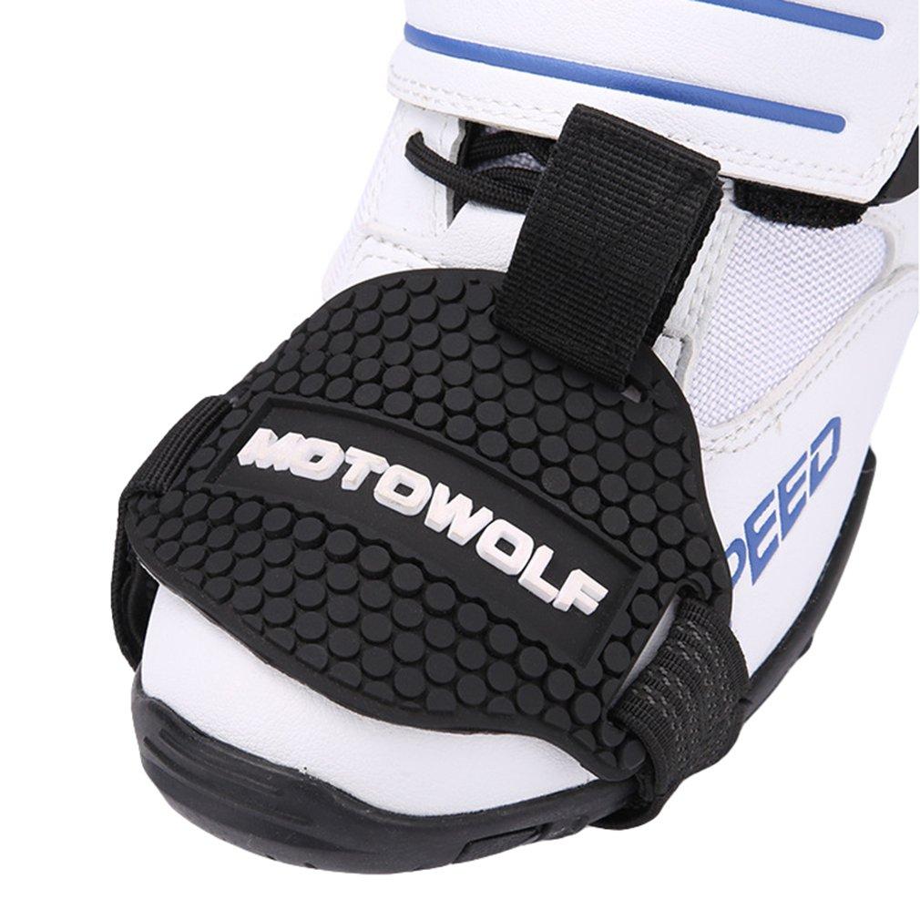 Motocicleta Moto Gear Shift Pad Funda Protector De Calzado Riding Shoes Protective
