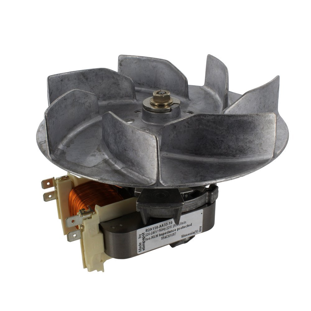 Bosch EBM-PAPST Produced Bosch Neff B1400-1500-1600/HB27000-90000/HB9T1A/TKC8000/HBN3000-400-9000 Series Fan Motor Assembly and Moulded Fan Blade 14-NF-28
