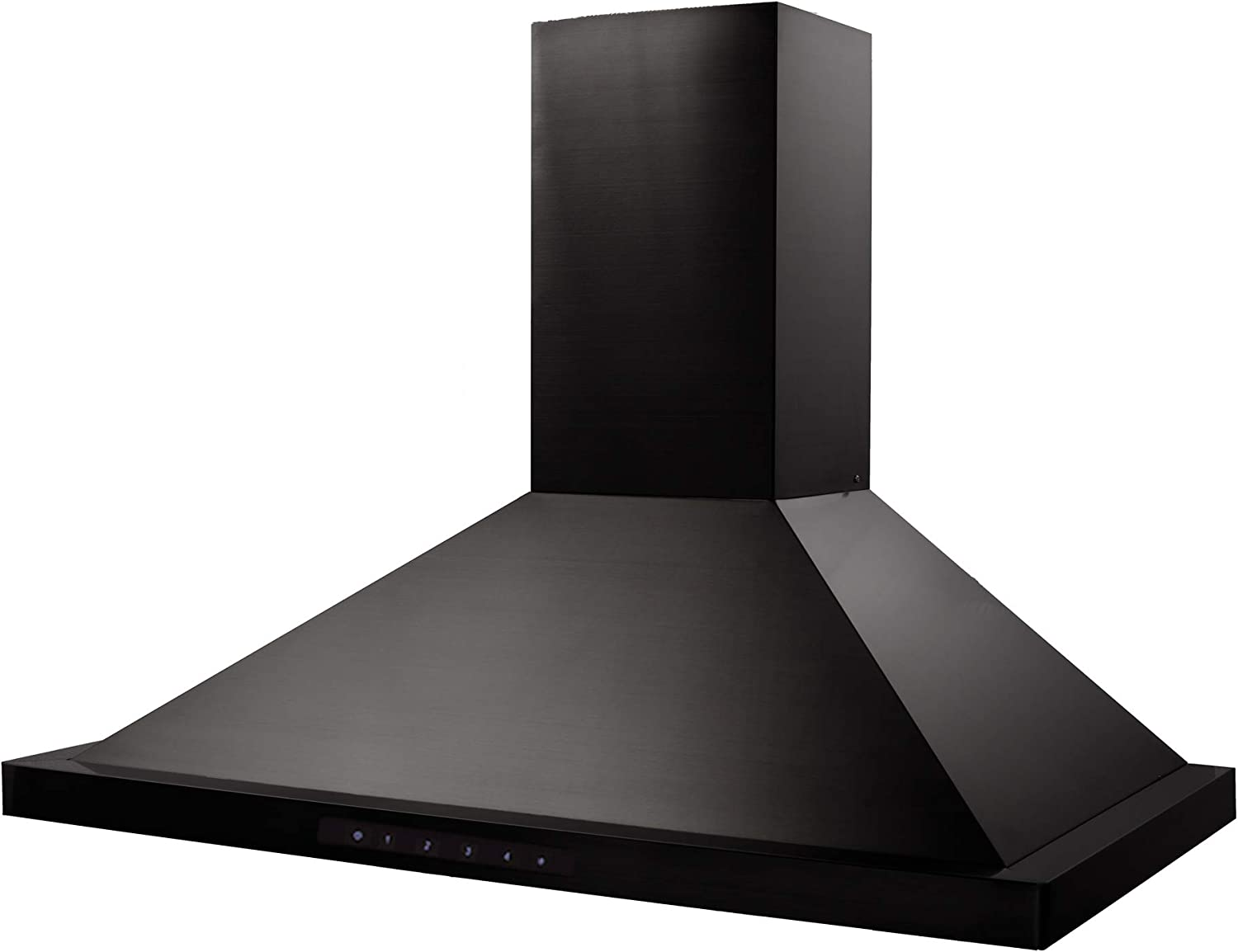 ZLINE 36 in. Wall Mount Range Hood in Black Stainless Steel (BSKBN-36)