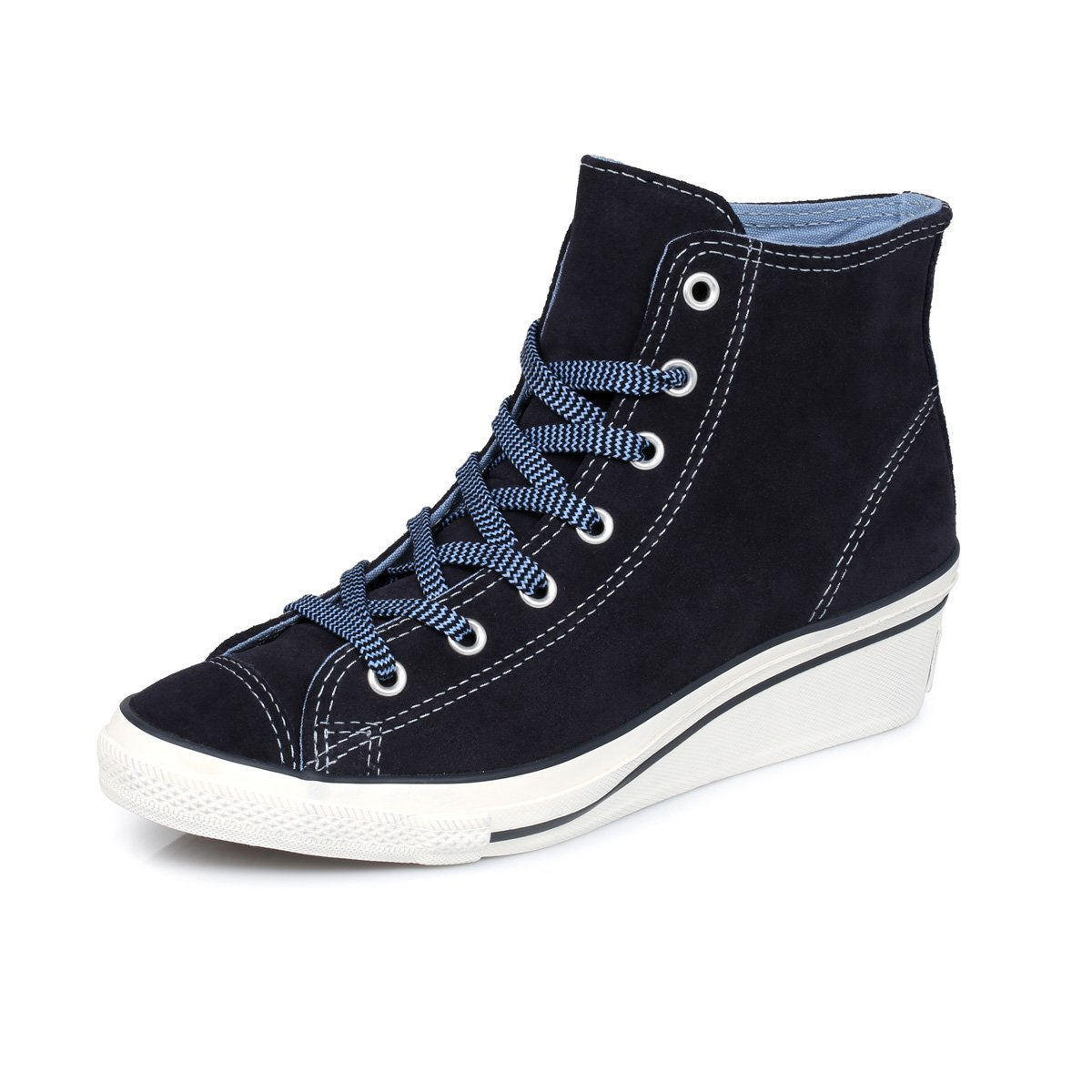 04d653b1846b Converse Chuck Taylor Hi-Ness Hi Deep Well Wedge Trainers -UK 7   Amazon.co.uk  Shoes   Bags