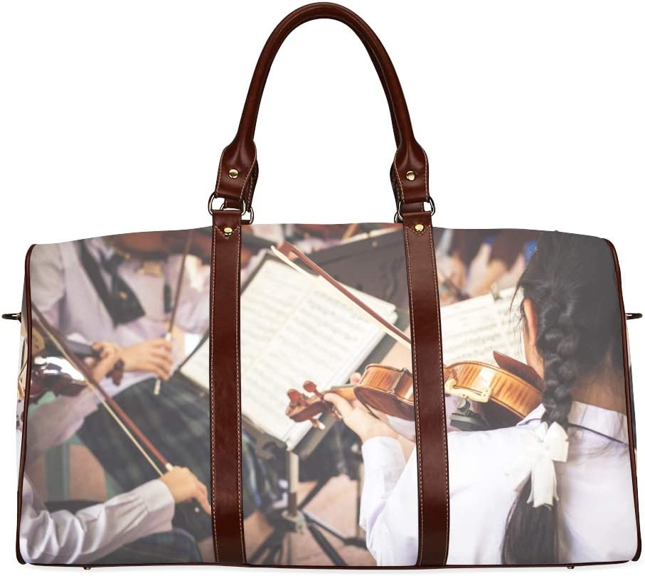 WEEKENDER BAG WOMEN gifts for musicians Rock and roll bachelorette large overnight bag gifts for music lovers musical instrument case