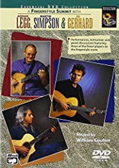 Taking performance instruction from guitar legends Adrian Legg, Martin Simpson and Ed Gerhard is as entertaining as it is informative. These fingerstyle masters discuss arranging, composing, technique, tone, and even the guitar's place in Ame...