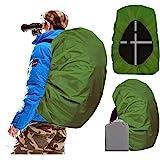 Joy Walker Waterproof Backpack Rain Cover for (15-90L), Upgraded Anti-Slip Cross Buckle Straps, Triple Strengthened Layers fo