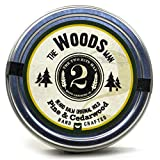 The Woods Beard Balm - Pine and Cedarwood - Essential Oil Scented Beard Conditioner Beard Balm by The 2Bits Man