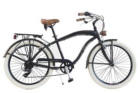 Via Veneto By Canellini Bicicletta Bici Citybike Ctb Uomo Vintage American Cruiser Retro Via Veneto Alluminio