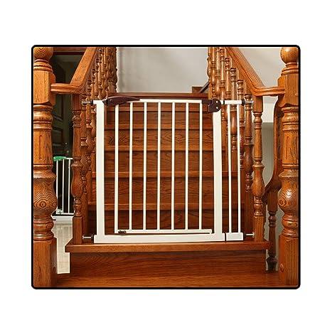 QIANDA Barrera de Seguridad Bebé Puerta de la Escalera Guardia De ...