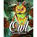 Owl Coloring Book A Coloring Book For Adults Featuring Beautiful Cute And Majestic Owl Designs For Stress Relief And Relaxation