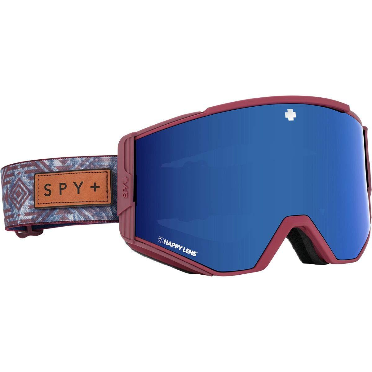 Spy Optic Aceスノーゴーグル クイックドローレンズシステム スキー/スノーボード/スノーモービル用 一部のスタイルに特許取得済みのHappy Lensを採用 NATIVE NATURE 赤-HAPPY ROSE w/DARK 青 SPECTRA+HAPPY LIGHT GRAY 緑 w/LUCID 赤