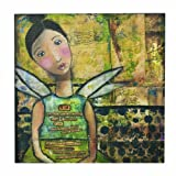 Kelly Rae Roberts Courage Lives Wall Art, 16 Square