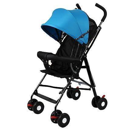 FAFY Accesorios De Cochecito De Bebé Cubierta De Lluvia Carro Universal Cochecito Plegable Cochecito,Blue