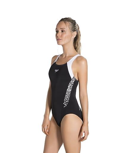 fb3fb95bf3fc Speedo Boom Splice Muscleback, Costume da Bagno Donna: Speedo: Amazon.it:  Abbigliamento