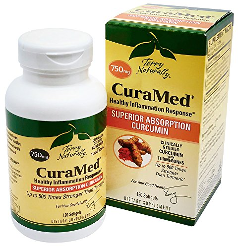 Terry Naturally CuraMed  More Powerful Than Turmeric 750 mg 120 ()