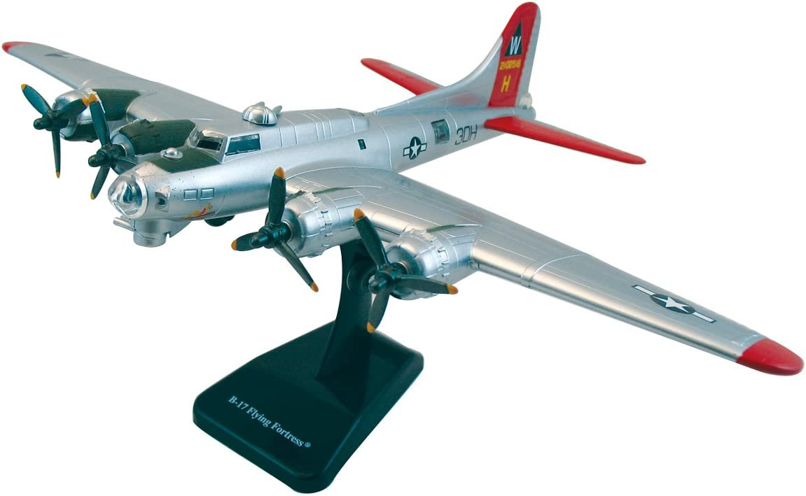 Die-cast Model B-17 Flying Fortress Bomber of WWII Aircraft Plane Scale:1:144 JJ05 Seven Secrets