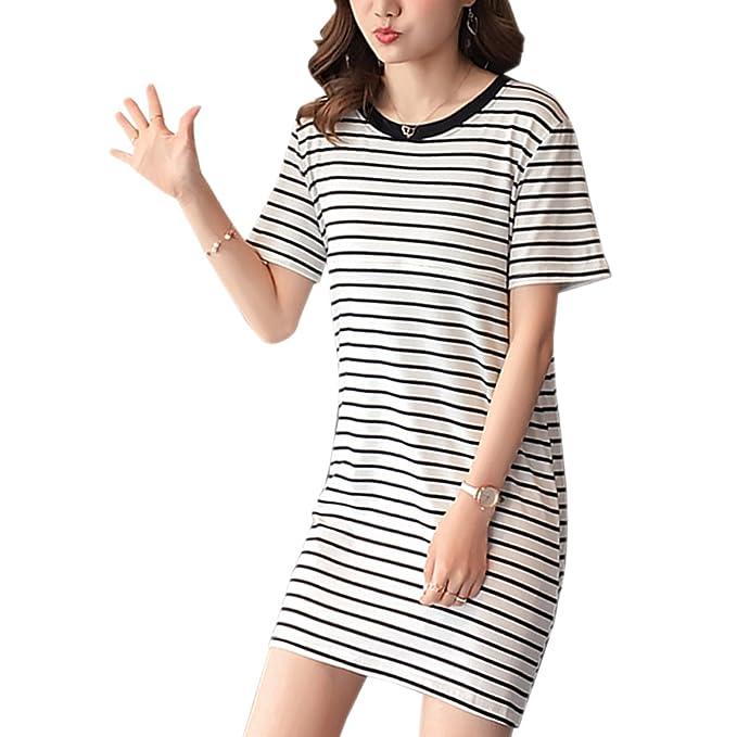 ZEVONDA Womens Elegante De Moda Maternity/Nursing Nightgown Vestido de Embarazo para el Vestido de