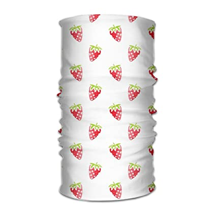 Amazon.com: Strawberry Repeat Diadema máscara multiusos ...