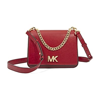 59e931cd6a52d3 Michael Kors Mott Large Chain Swag Leather Shoulder: Handbags: Amazon.com