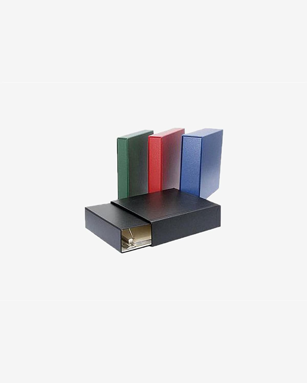 1.5 D ring binder /& slipcase set Red