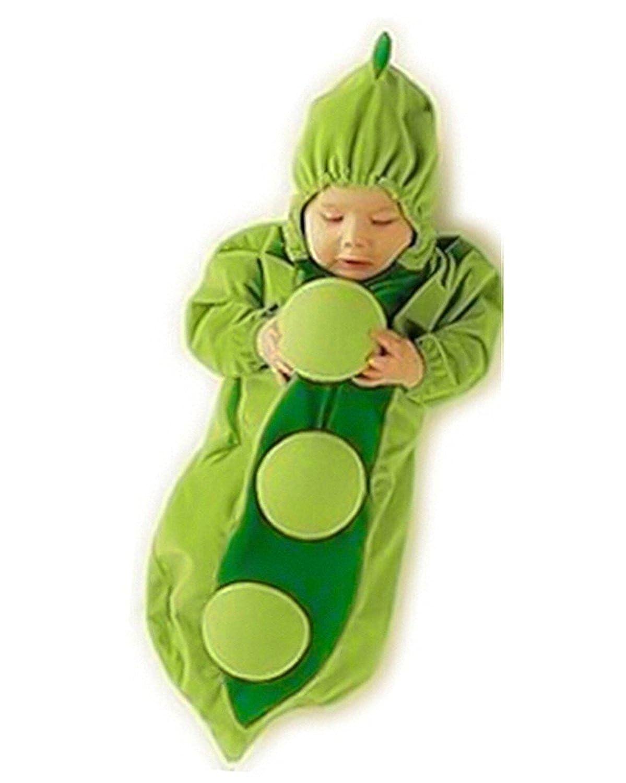 Guisante Frijol Beb/é Ropa Equipar Disfraz Dormido Bolso Envolver Sleepsack Saco de Dormir