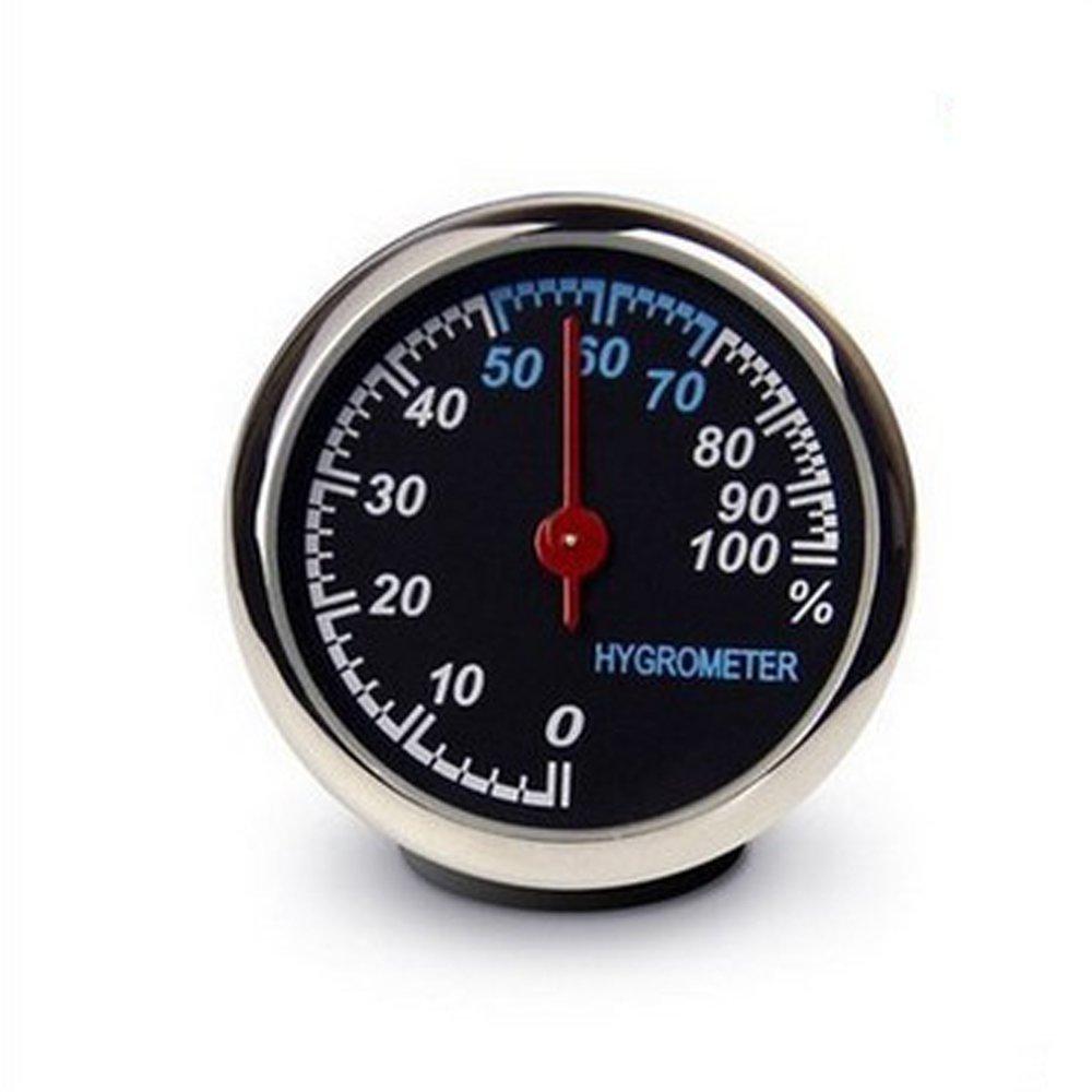 ANKI Table Classic Car Dashboard Small Round Analog Quartz Hygrometer Thermometer Humidity Meter Hygrometer