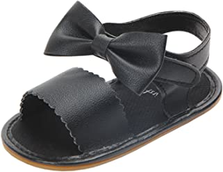 7c49ea443feb Annnowl Baby Girls Sandals for Summer with Bows
