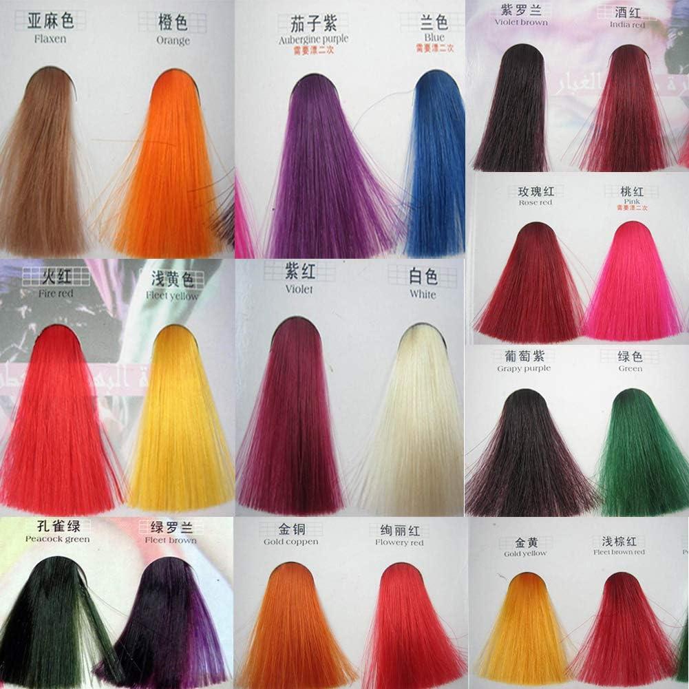 BeonJFx - Tinte para cabello unisex, 2 bolsas: Amazon.es: Belleza