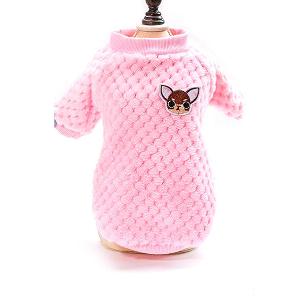 Chaude Classique Chaud Chien Vêtements Chiot Pet Chat Veste Manteau d'hiver De Mode Doux Chandail Vêtements pour Chihuahua Yorkie-Vert Beito